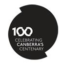 Canberra 100 logo