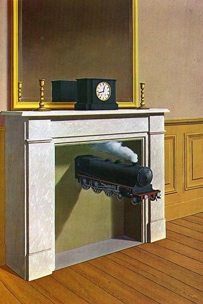Magritte - time transfixed