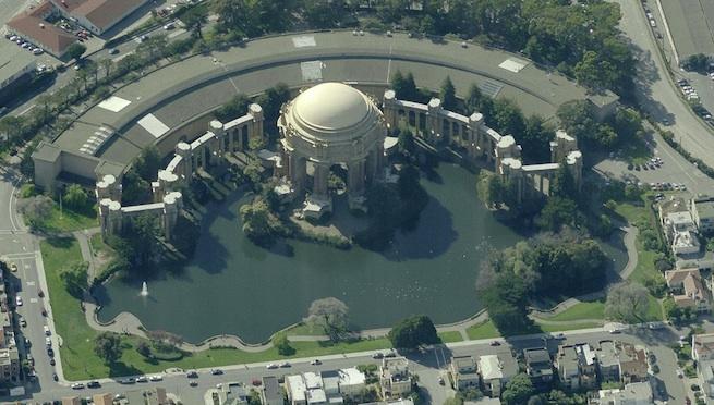 palace - bing aerial