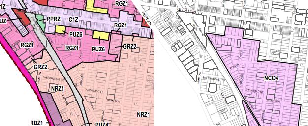 zone comparison