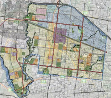 melbourne overlay