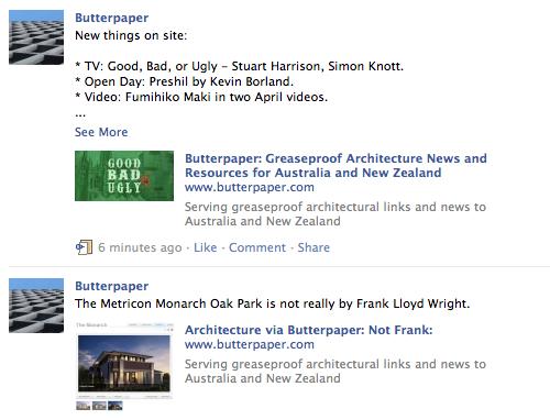 facebook butterpaper