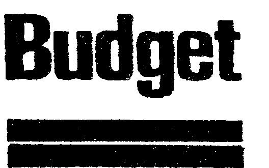 budget 1970s logo