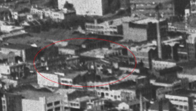 1953 aerial CUB site