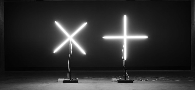 Cross and plus