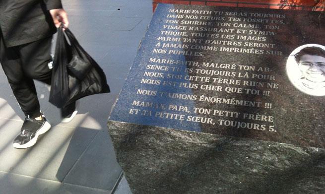 Swanston street memorial