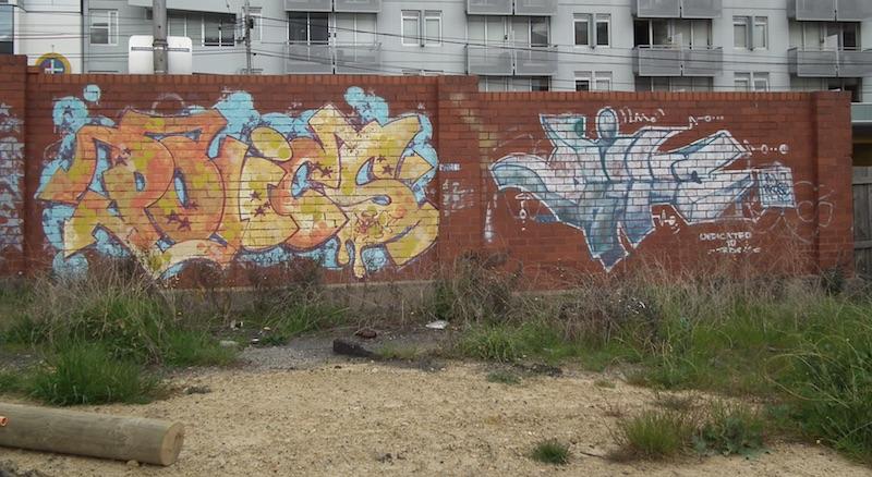 Swanston Street Wall 2010