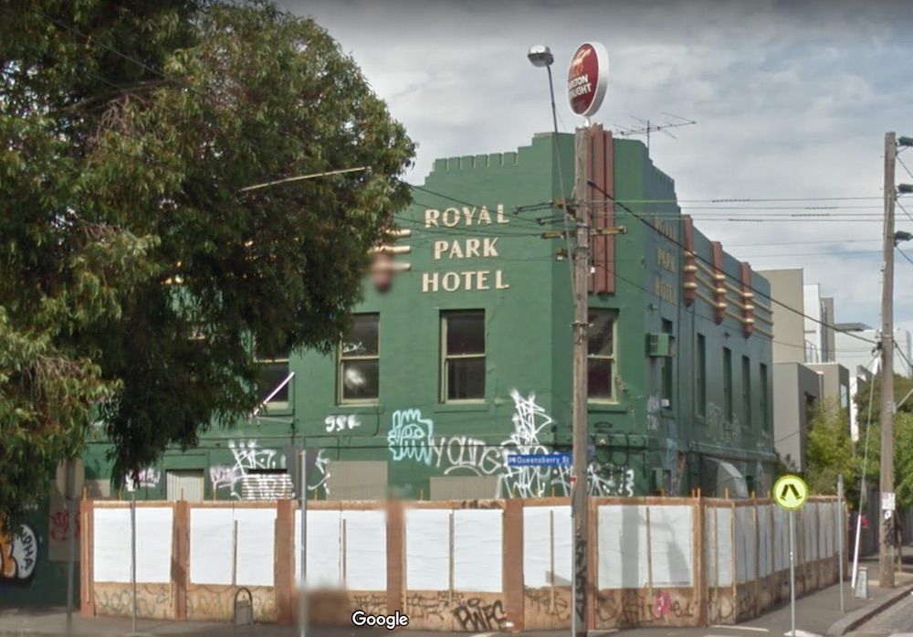 Royal Park Hotel March 2014