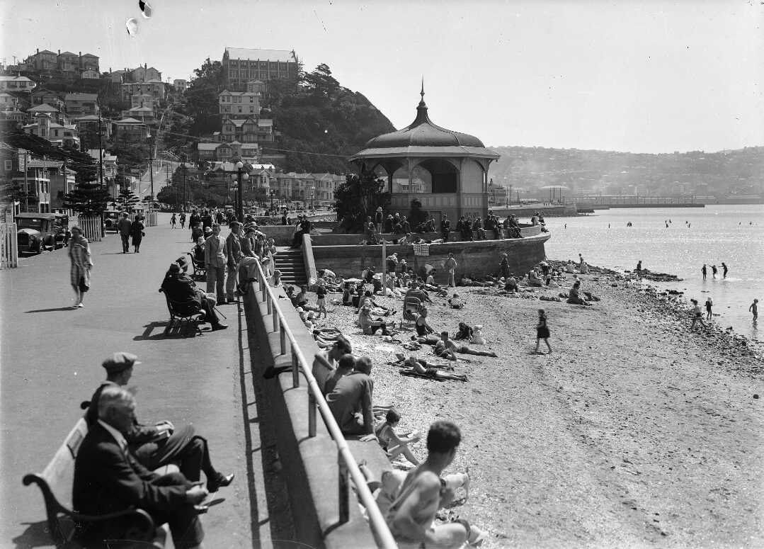 Oriental Bay Rotunda 1932