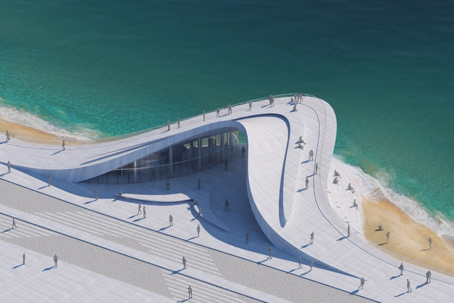 Wellington Wave by Stanislaw Michalowski of Studio Michalowski, Russia