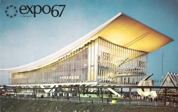 expo 67 montreal - soviet pavilion
