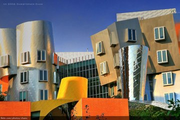 Stata centre by Frank Gehry