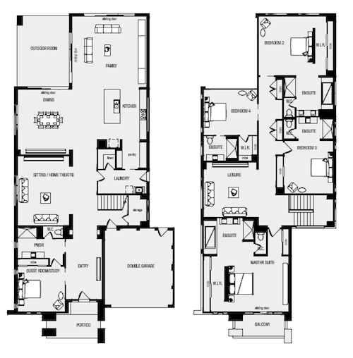 metricon floor plan