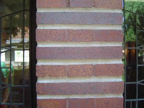 Robie House brick detail