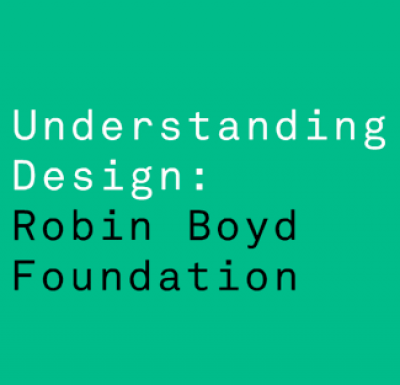 Robin Boyd Foundation banner