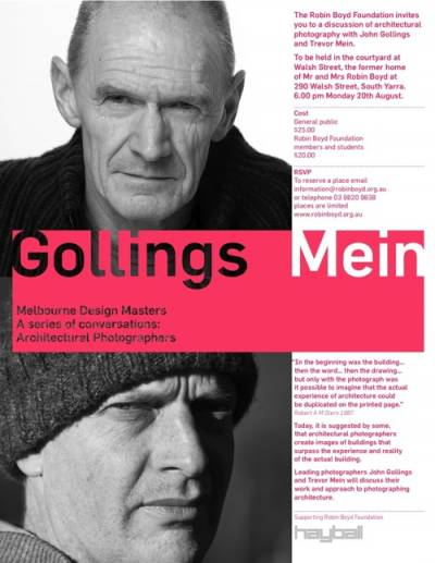 Gollings and Mein flyer