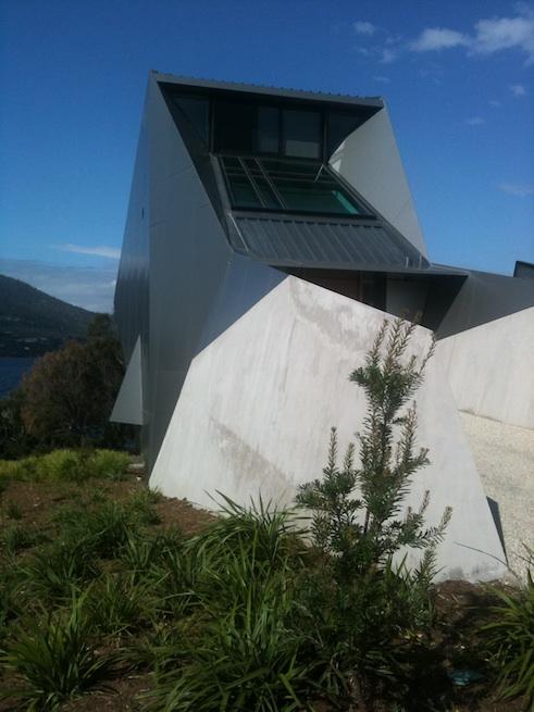 MONA pavilions by Antarctica & Nonda Katsilidis
